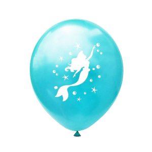 Mermaid ballonnen 6x