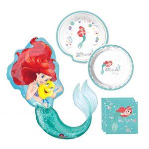 Zeemeermin feest pakket Ariel de kleine zeemeermin