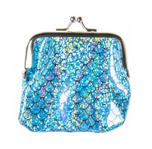 Zeemeermin portemonnee blauw