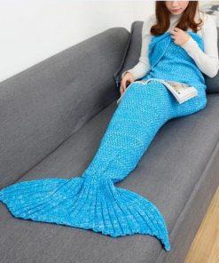 Zeemeermin staart deken